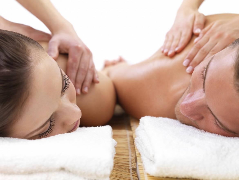 Massage met z'n tweeën