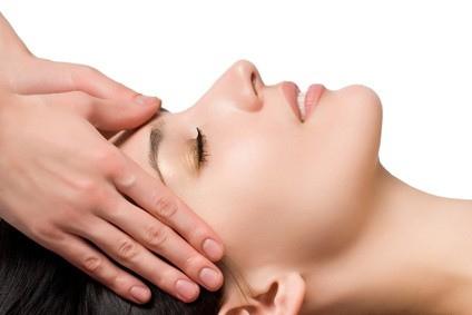 Hoofd massage