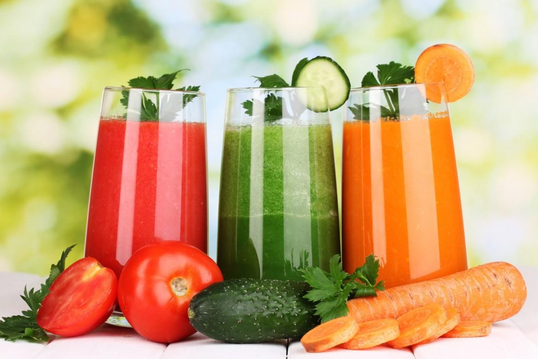 Detoxen met gezonde voeding