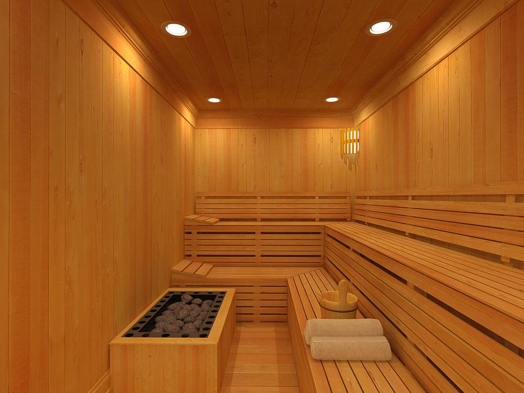 Sauna van binnen
